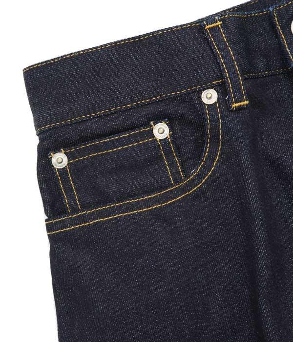 【レディース】selvage denim 5pocket wide pants