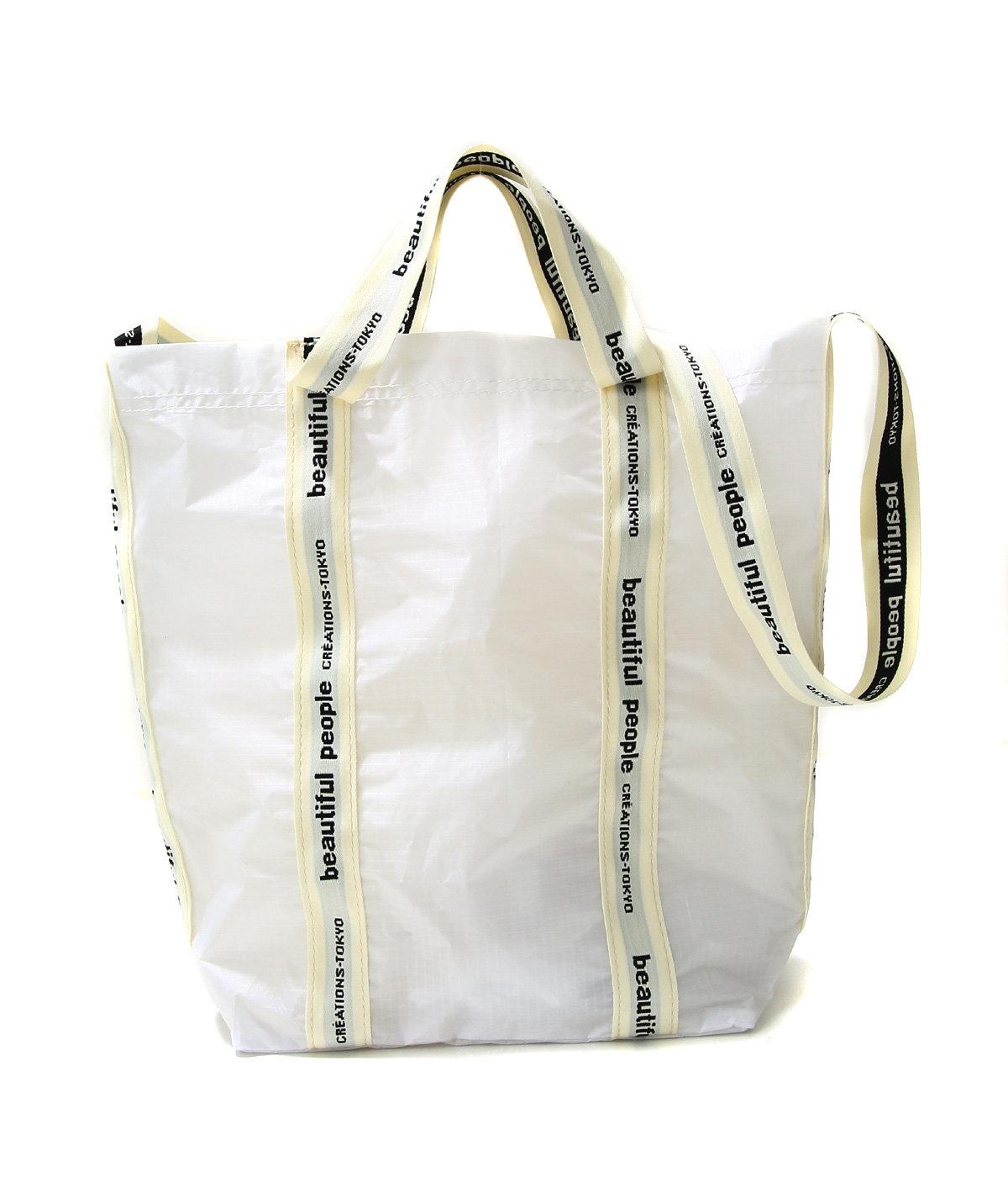 【レディース】sail cloth logo tape shoulder bag