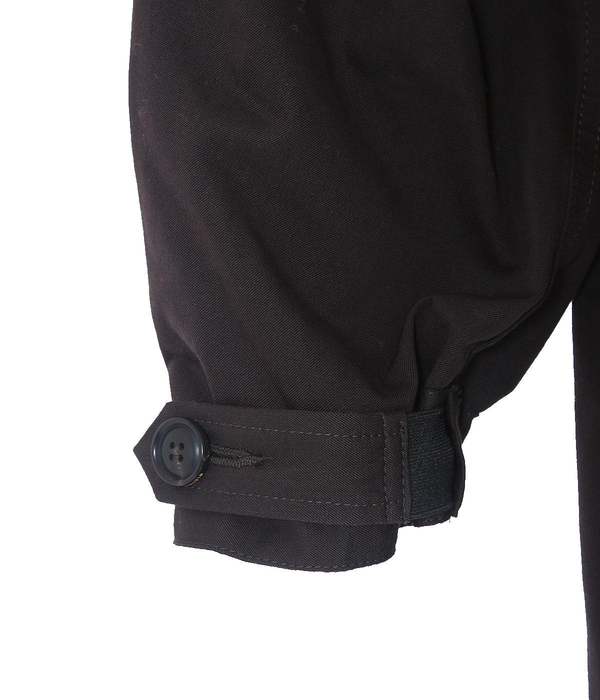 【レディース】mohair gabardine military mods coat