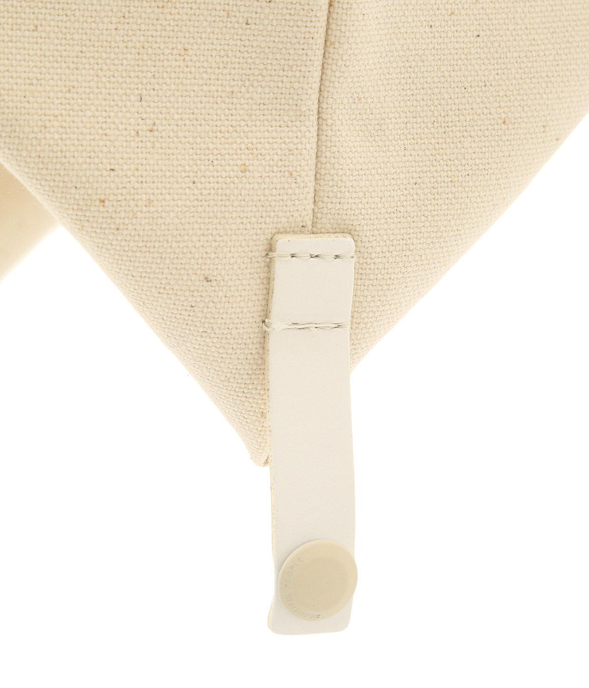 lining logo pocket tote bag
