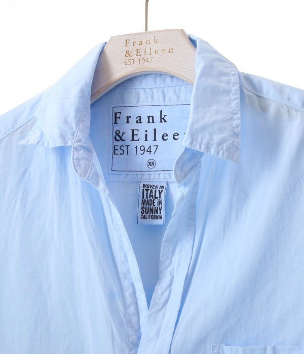 【レディース】<EILEEN>-100% COTTON LIGHT POPLIN-LT BLUE-コットン