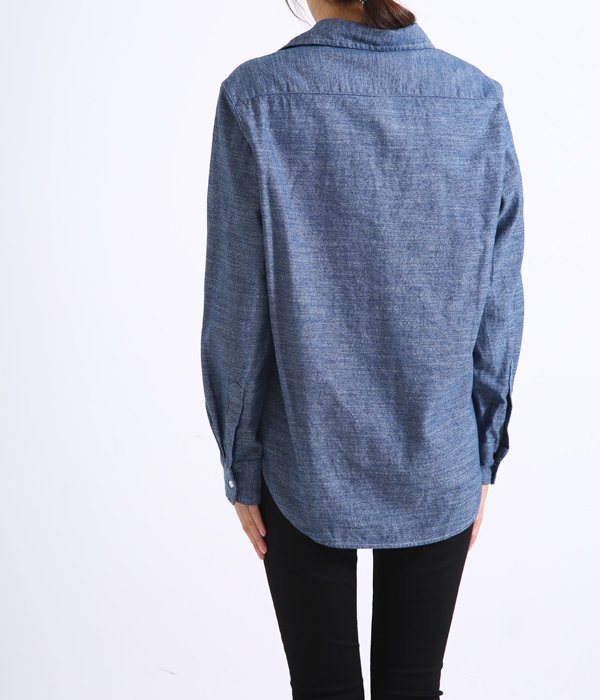 【レディース】<EILEEN>-COTTON -INDIGO-INDIGO FLANNEL DIDF