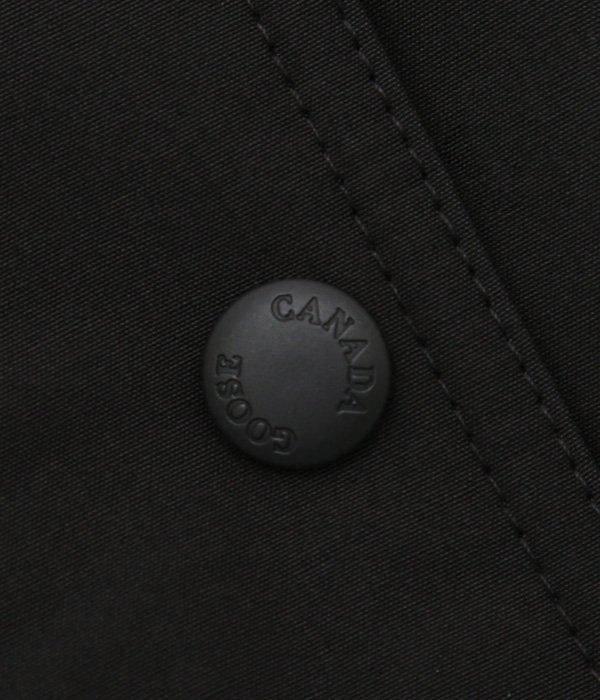【レディース】<TRILLIUM PARKA FF(トリリウム パーカー)>-ブラック-