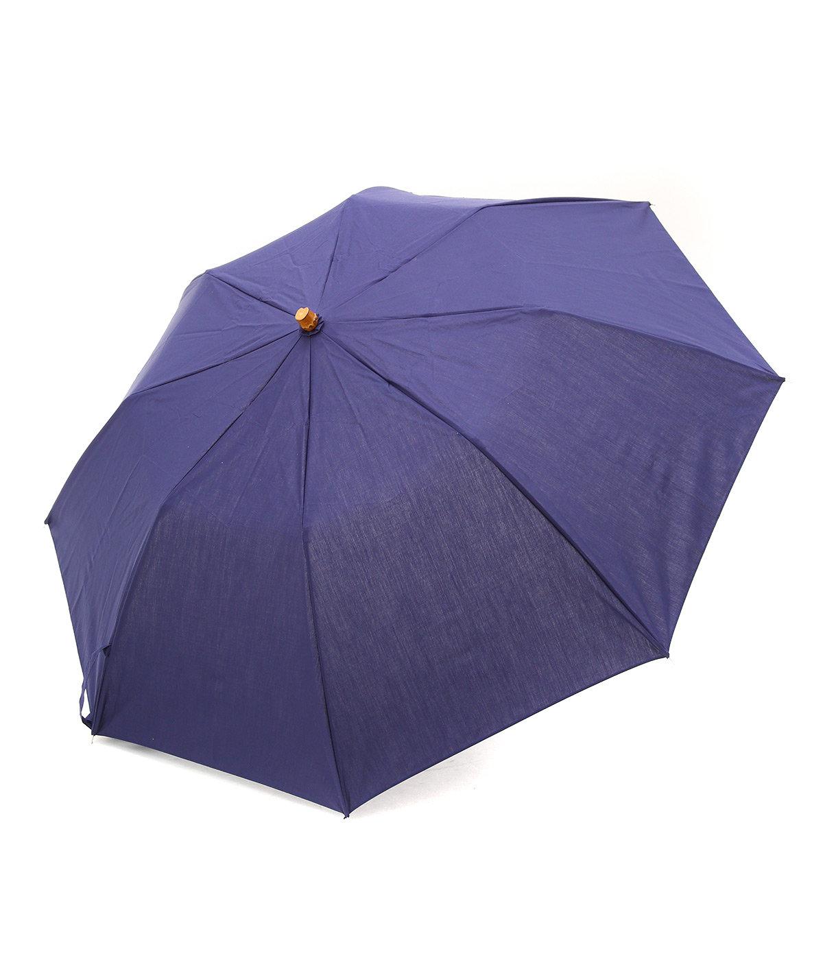 【レディース】FOLDING BAMBOO GLDーVIOLETINKー / 折りたたみ傘