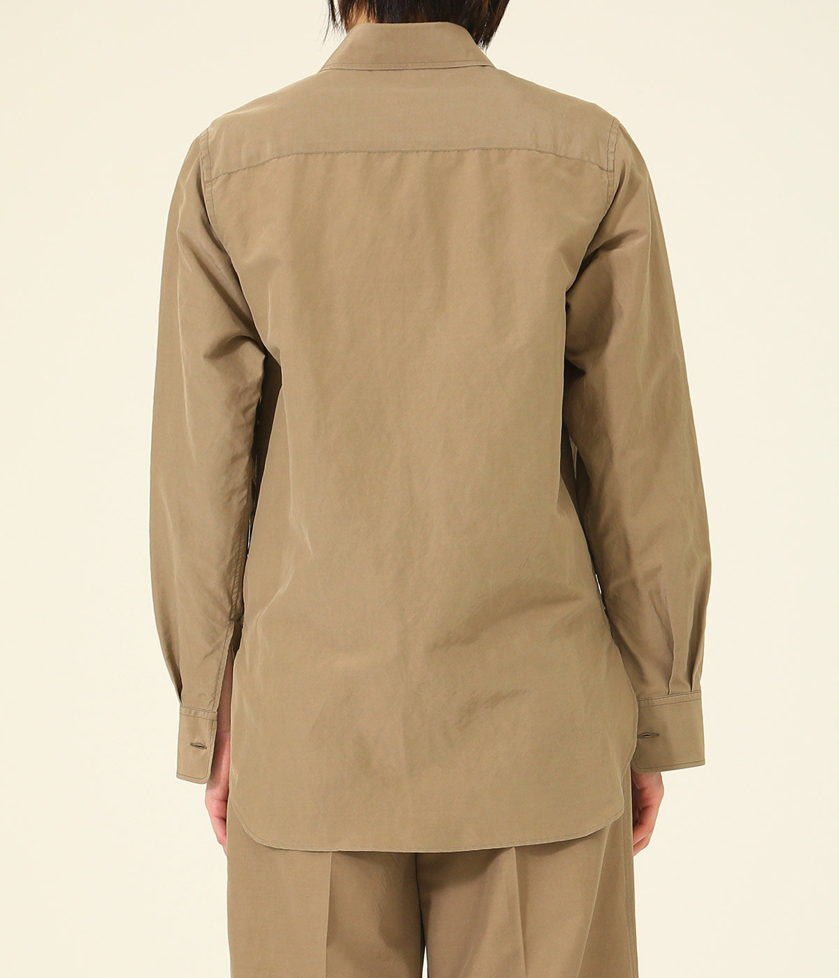 【レディース】SILK COTTON CLOTH BIG SHIRTS