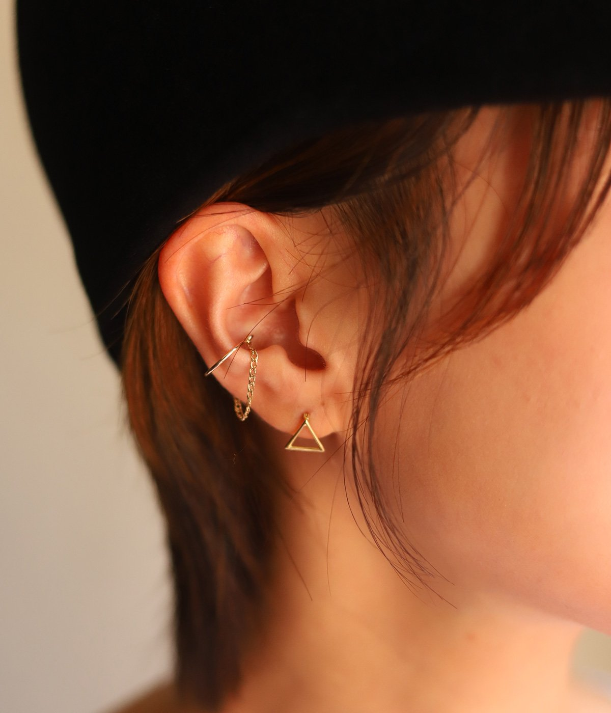 【予約】Chain Ear Cuff(イヤーカフ)