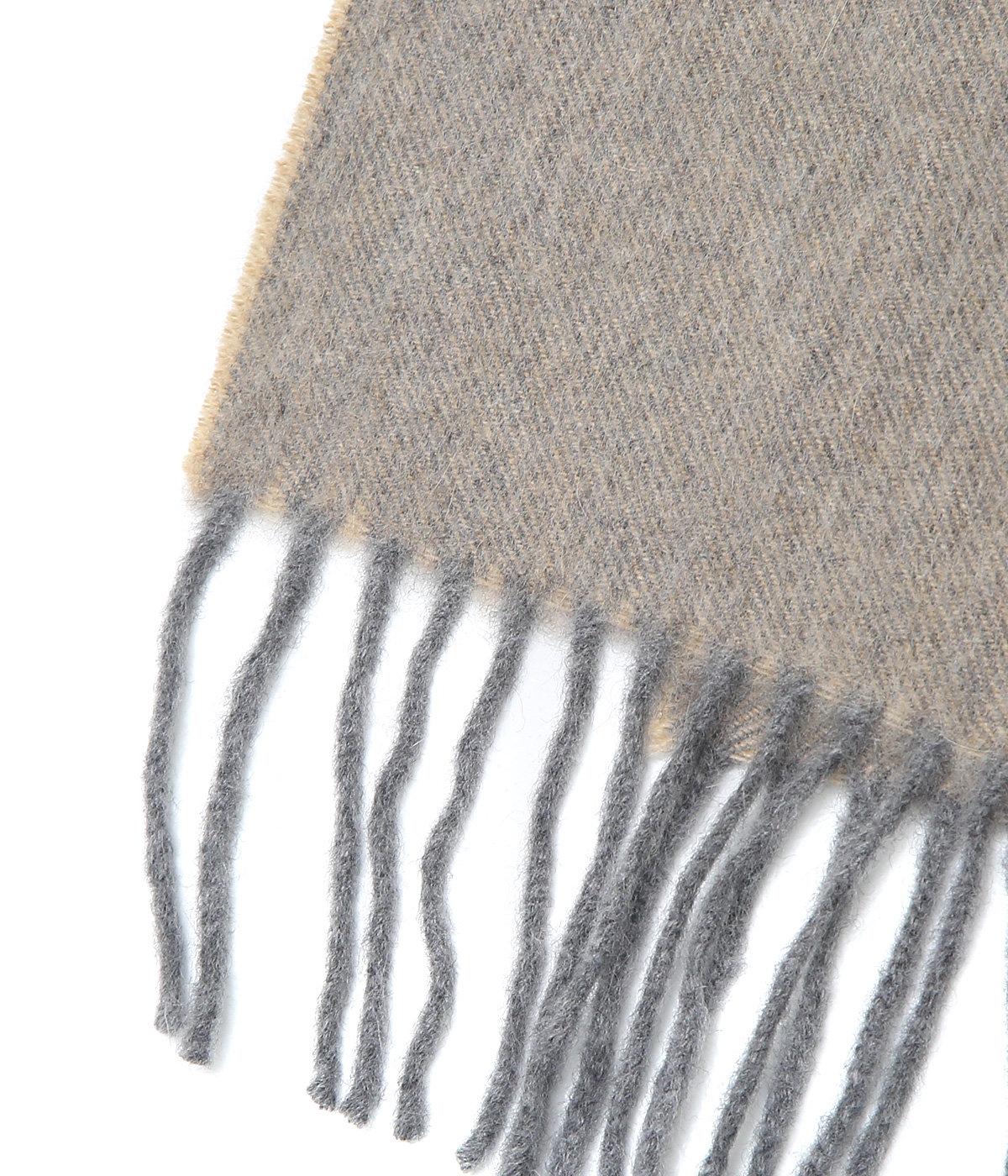 <DUO Muffler(65cm×180cm)>-Natural Greige-