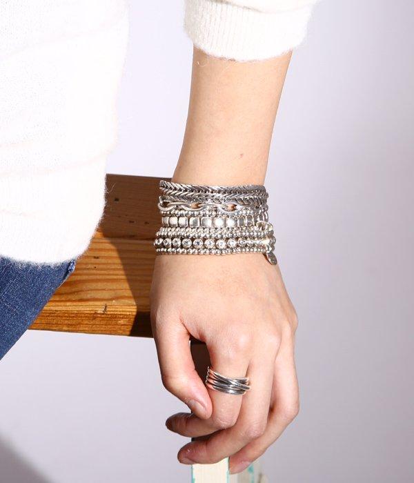 【レディース】ring metal New Africa(silver color)