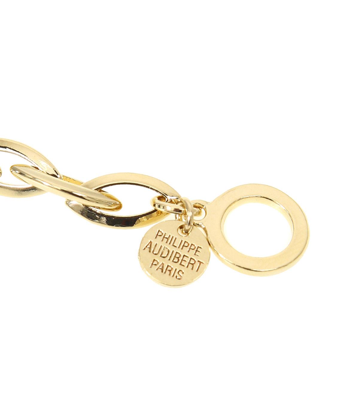 【レディース】Elton bracelet(brass gold color)