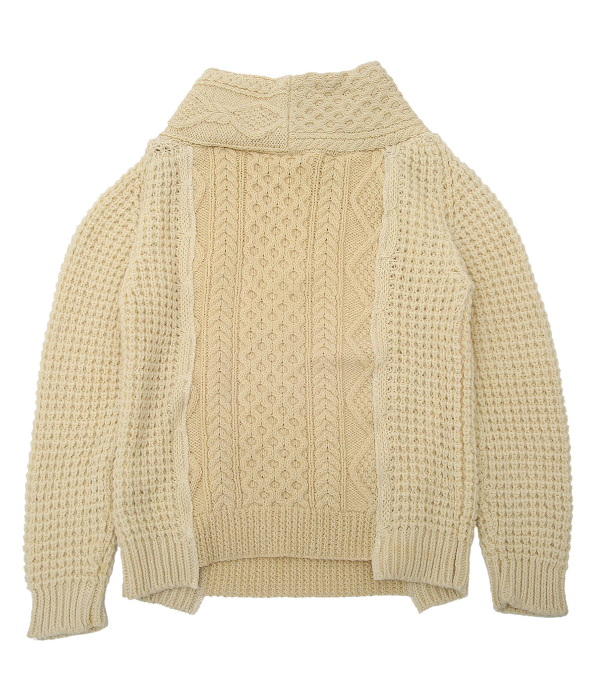 【レディース】circa make thick v/n fisherman sweater