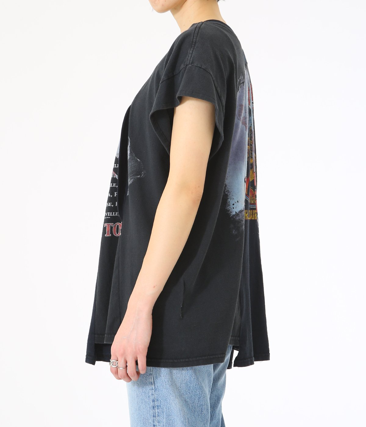 【レディース】circa make wide hem 3D oval top