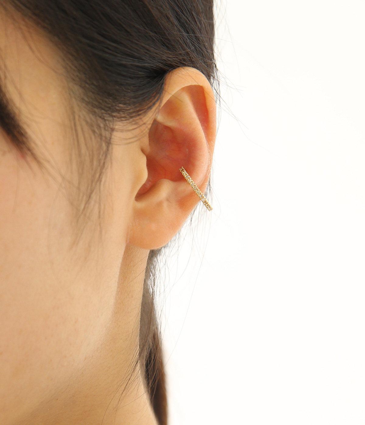 Square Diamond Ear Cuff(イヤーカフ)
