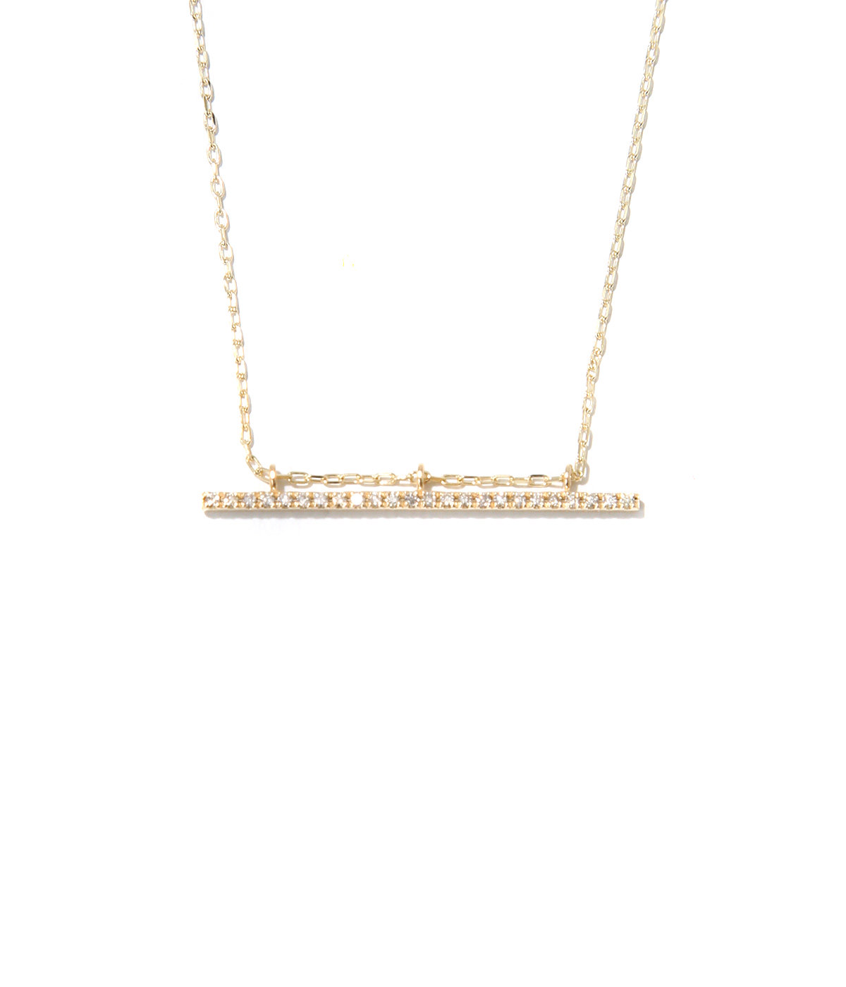 Gossamer Diamond  Bar Necklace(ネックレス)
