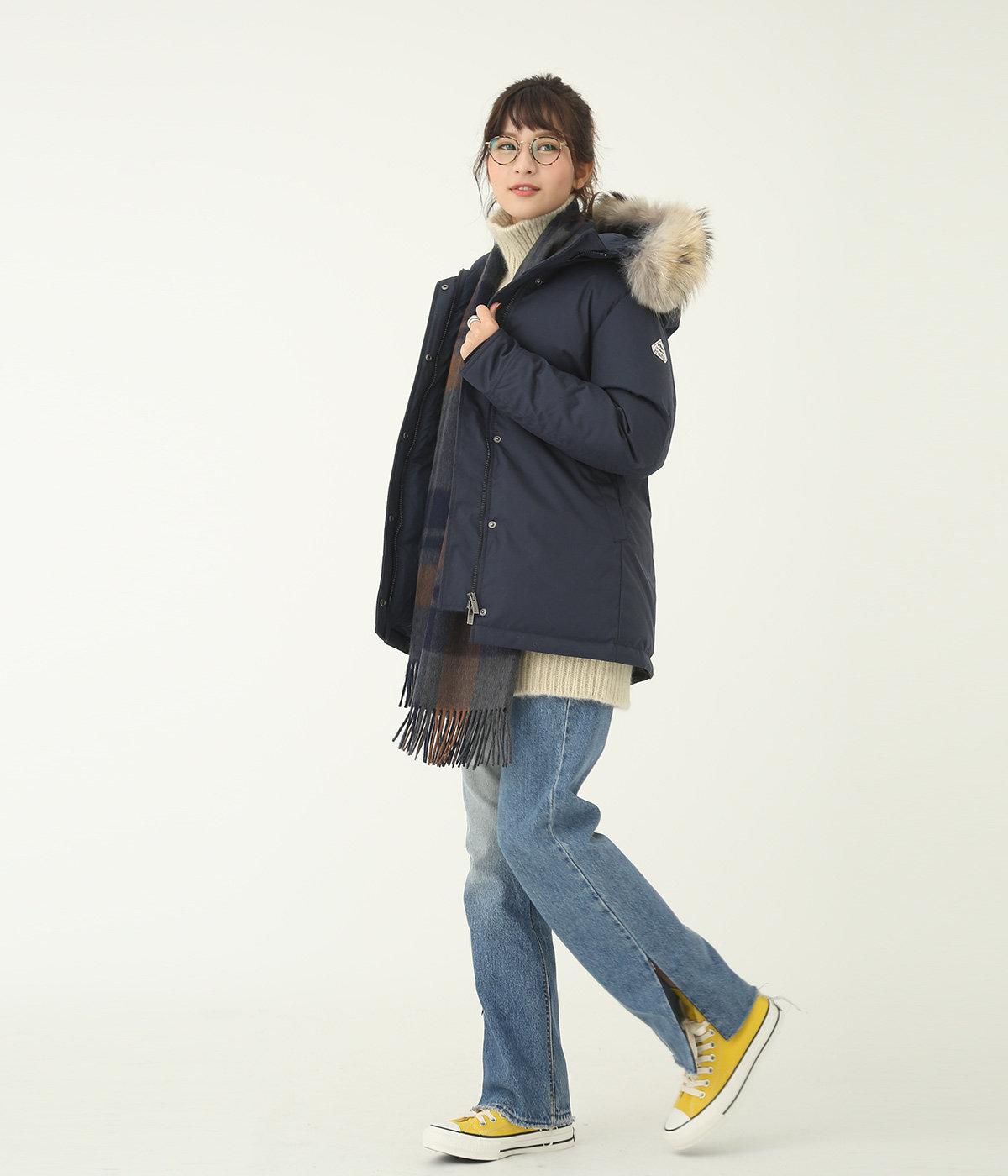 model(168cm) 着用サイズ:36