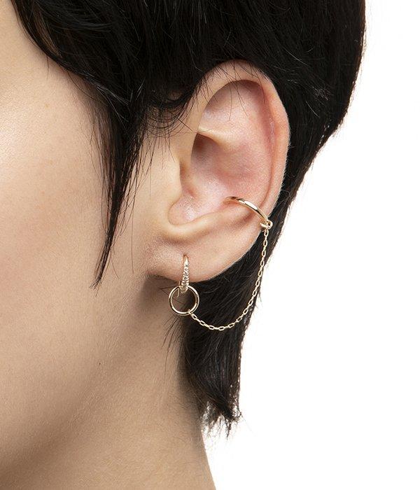 【レディース】Mughal Ear Cuff Earring(イヤーカフ/ピアス)