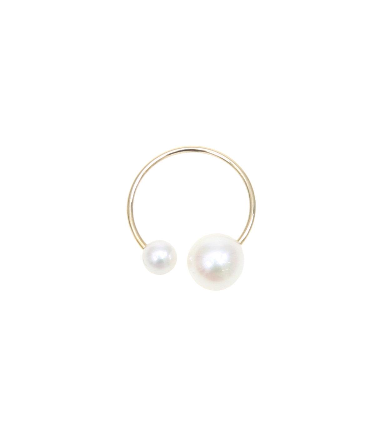 Akoya Pearl Ear Cuff7/4mm(イヤーカフ)