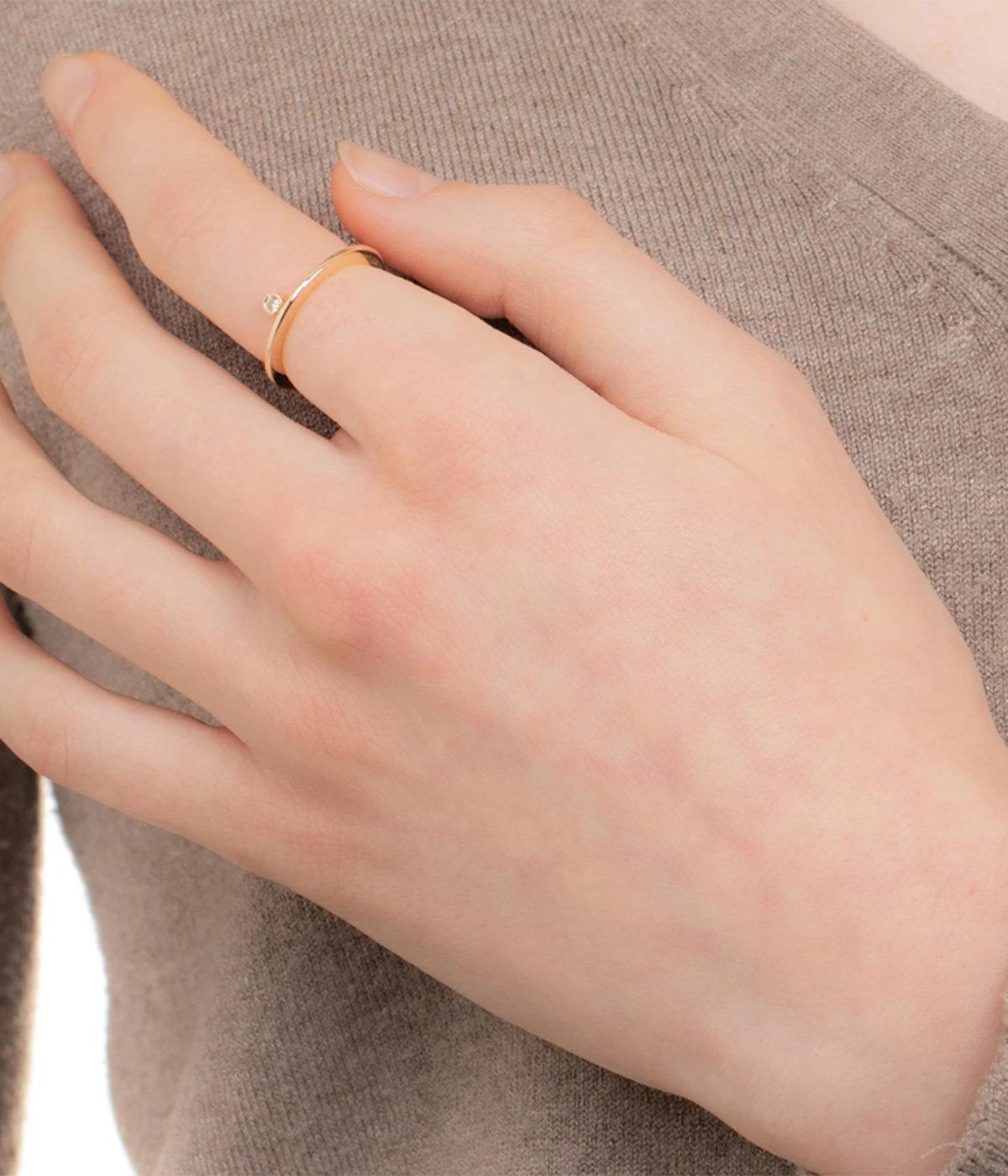 【レディース】Stacking Diamond Ring(リング)