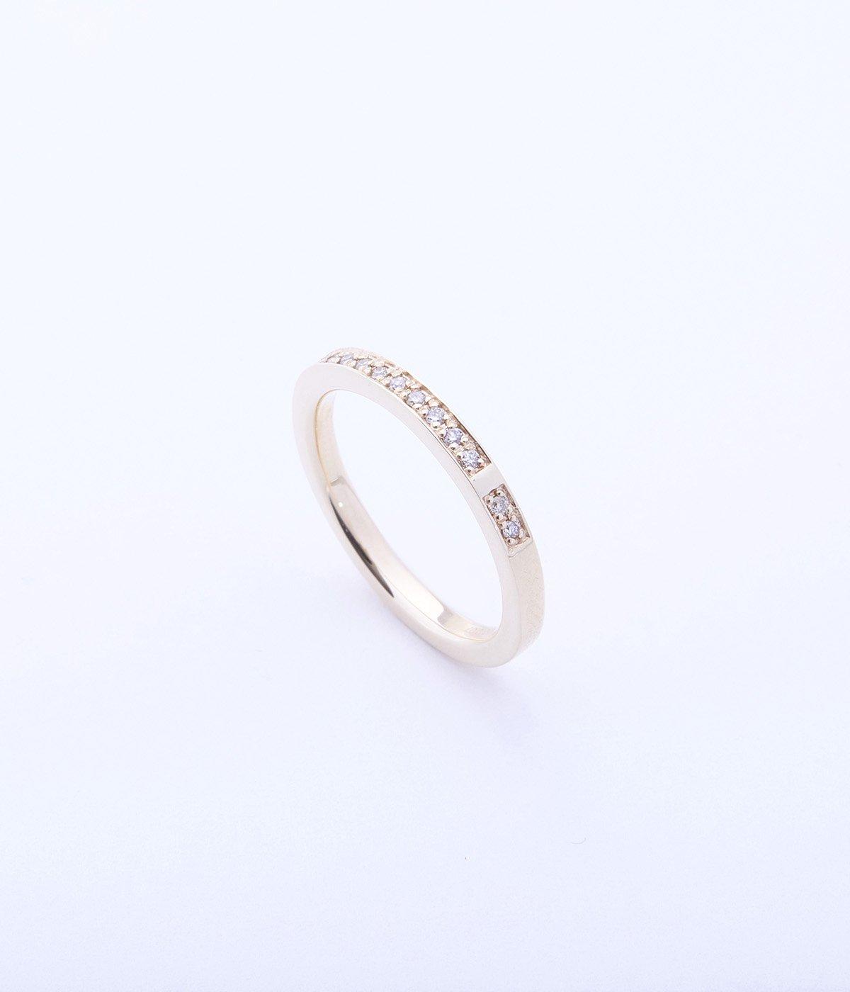 【レディース】Diamond Stacking Ring(リング)