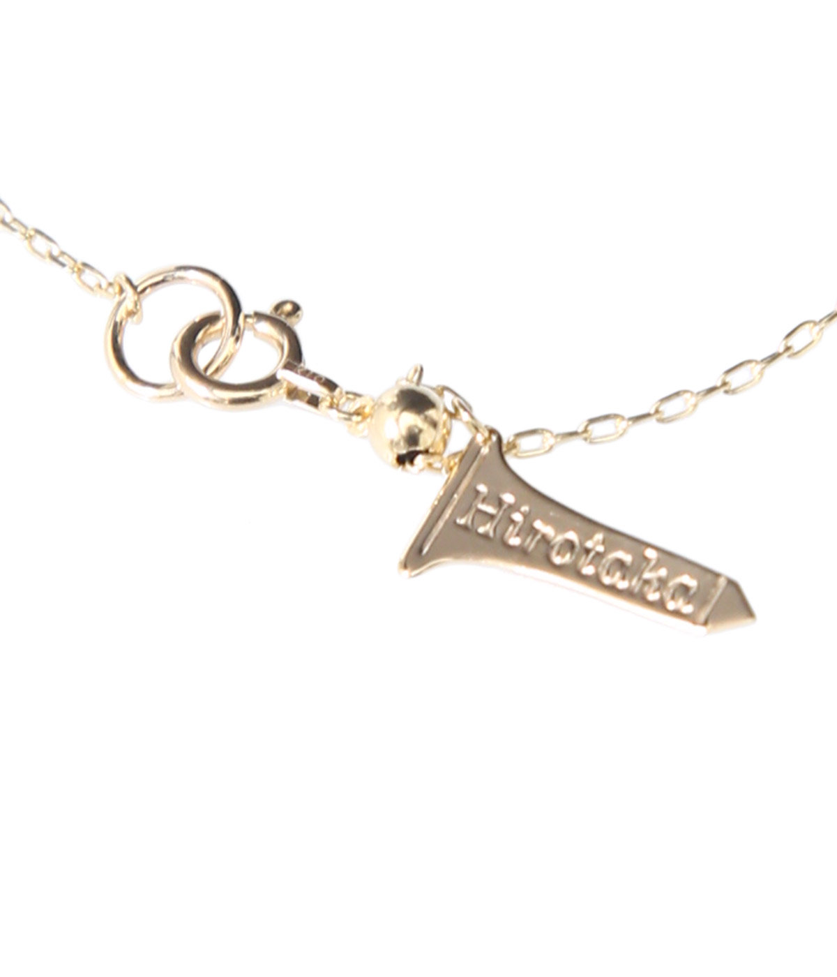Trapeze Diamond Necklace S-Yellow Gold-(ネックレス)