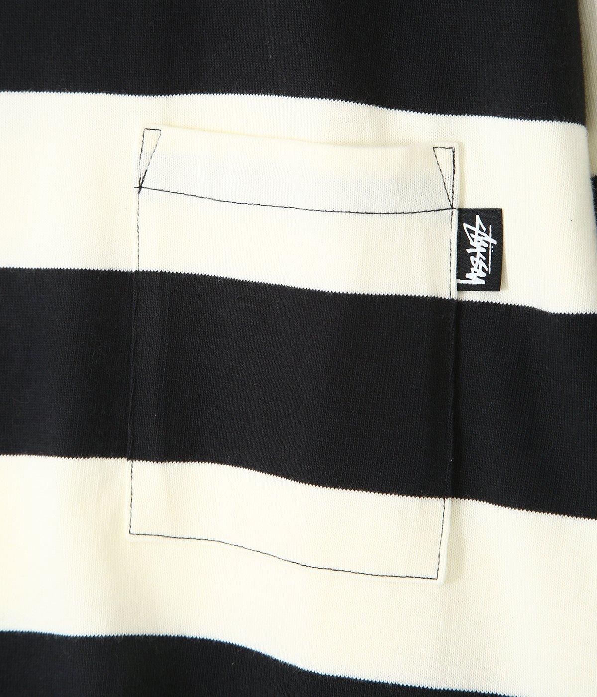 Classic Stripe LS Crew