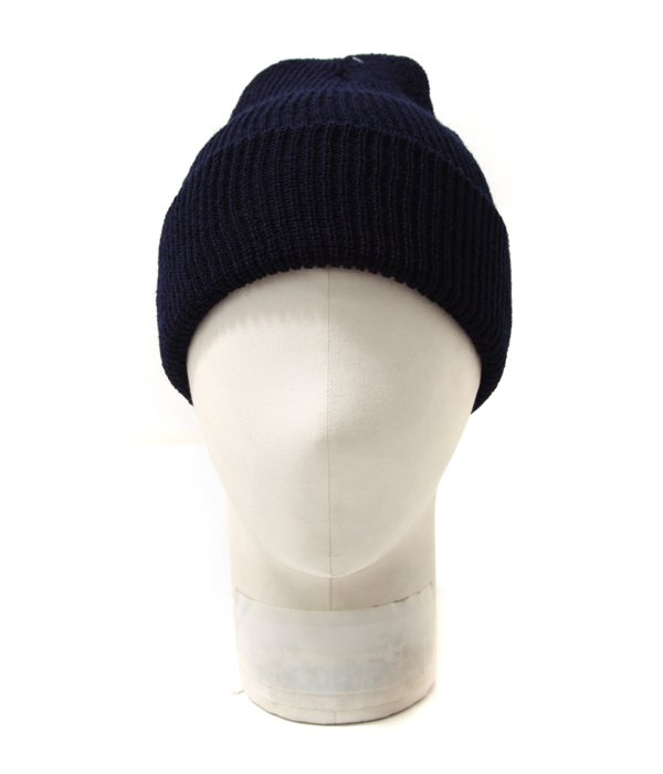 Wool Knit Cap - Navy MADE IN U.S.A.