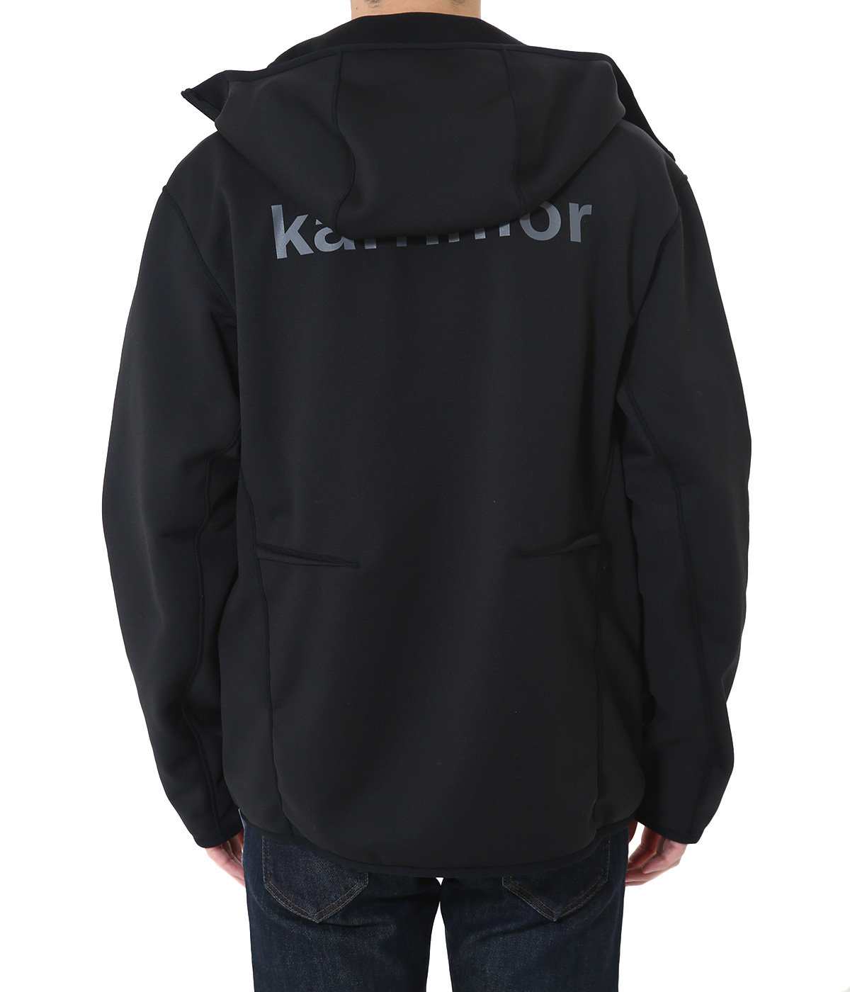 reversible hoodie fleece jacket