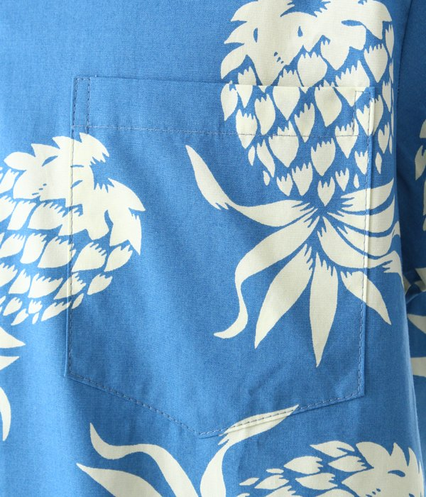 102C087 COTTON BROADCLOTH TRADITIONAL ALOHA SH