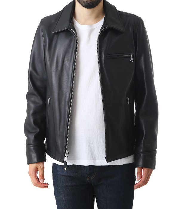 103US TRUCKER LEATHER JKT