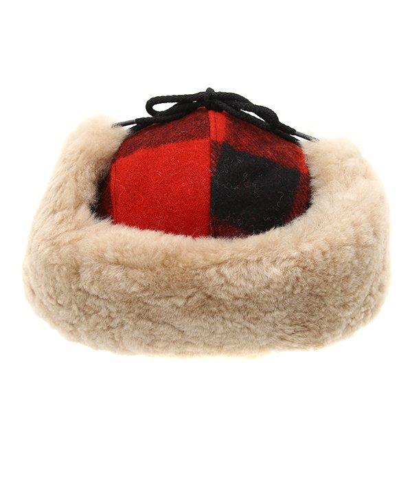 DOUBLE MACKINAW CAP