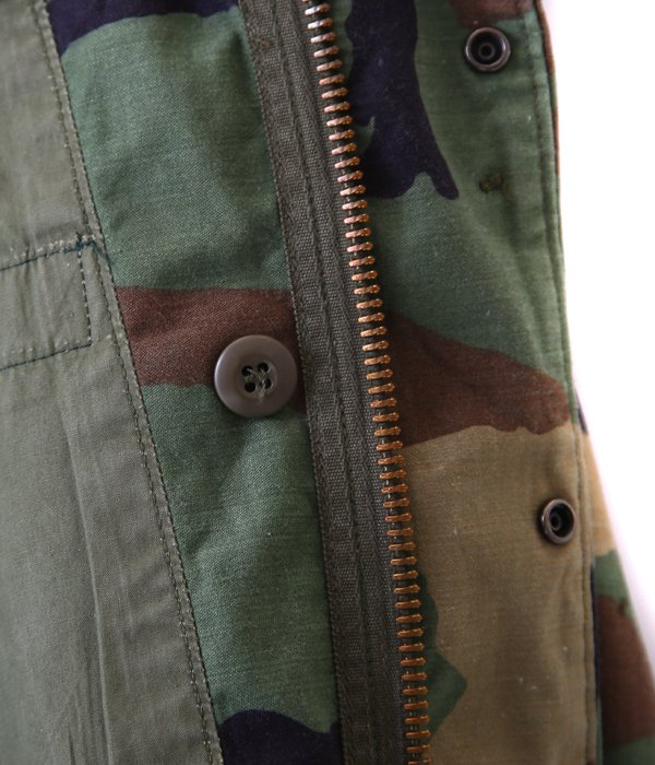 【USED】 M-65 WOODLAND CAMO JACKET -XS size-