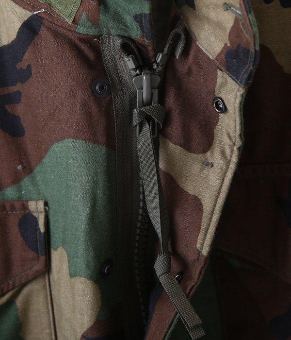 【USED】 M-65 WOODLAND CAMO JACKET -S size-