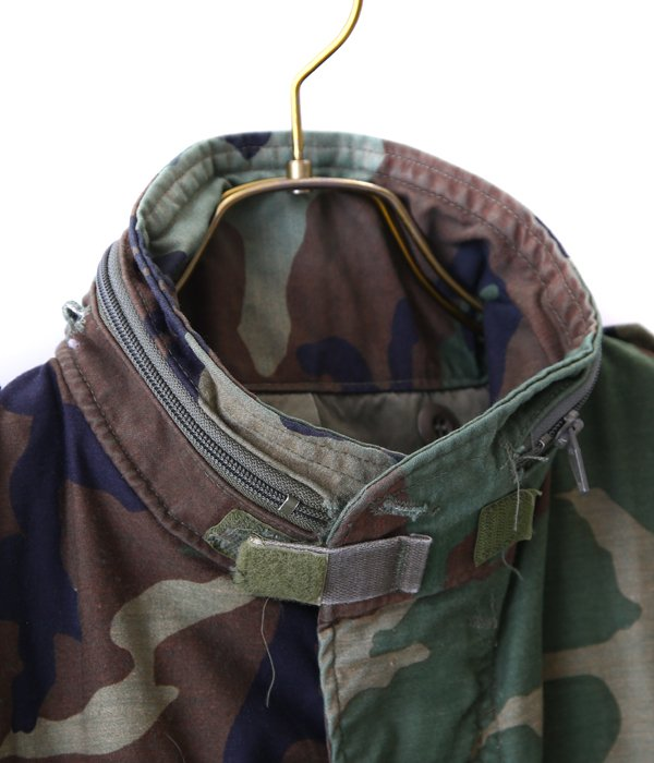 【USED】 M-65 WOODLAND CAMO JACKET -M size-