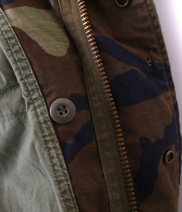 【USED】 M-65 WOODLAND CAMO JACKET -M size-