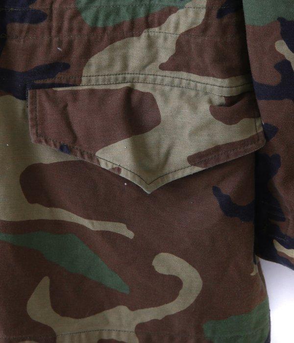 【USED】 M-65 WOODLAND CAMO JACKET -L size-