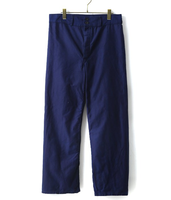 【DEAD STOCK】MOLESKIN WORK PANTS -Size:4-