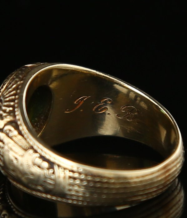 VINTAGE TIFFANY 14k 1936 RING