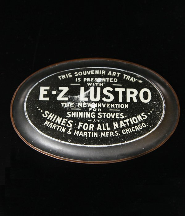 NONE VINTAGE advertising tray