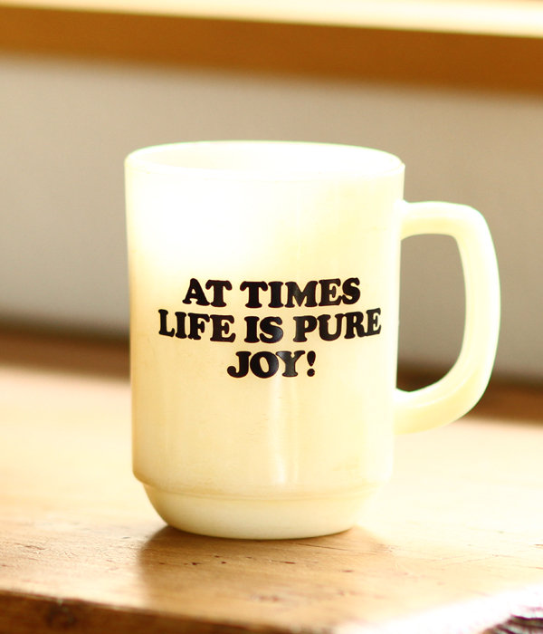 Fire-King MAG CUP SNOOPY -JOY-