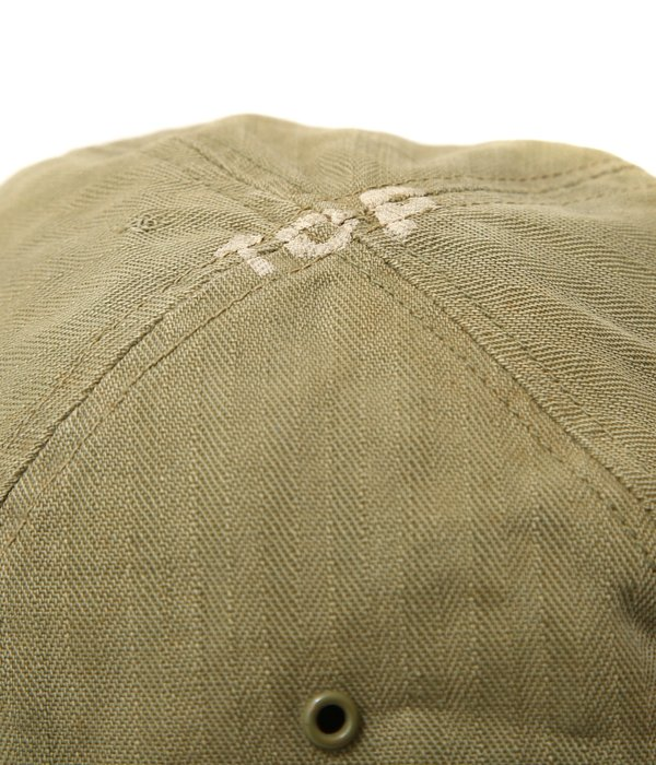 【USED】40's U.S.ARMY HBT HAT