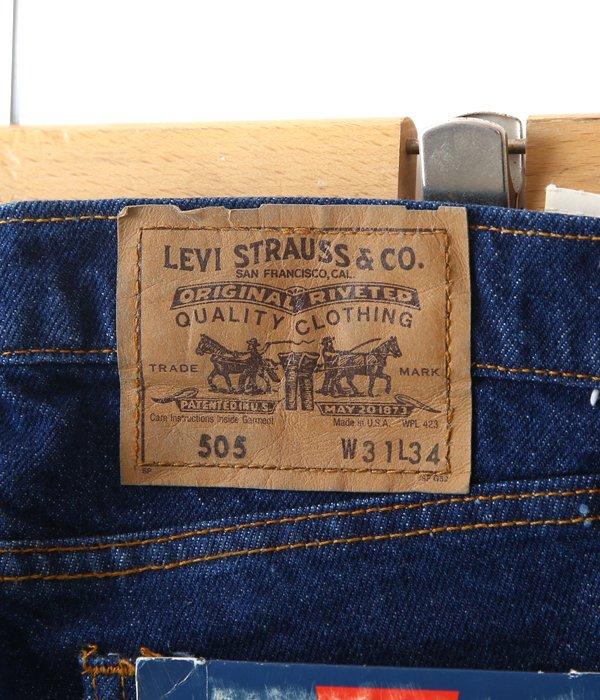 【DEAD STOCK】Levi's 505 DENIM(31×34)