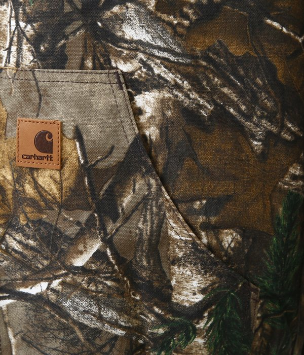【Carhartt】QUILTED-FLANNEL LINED CAMO ACTIVE JACKET