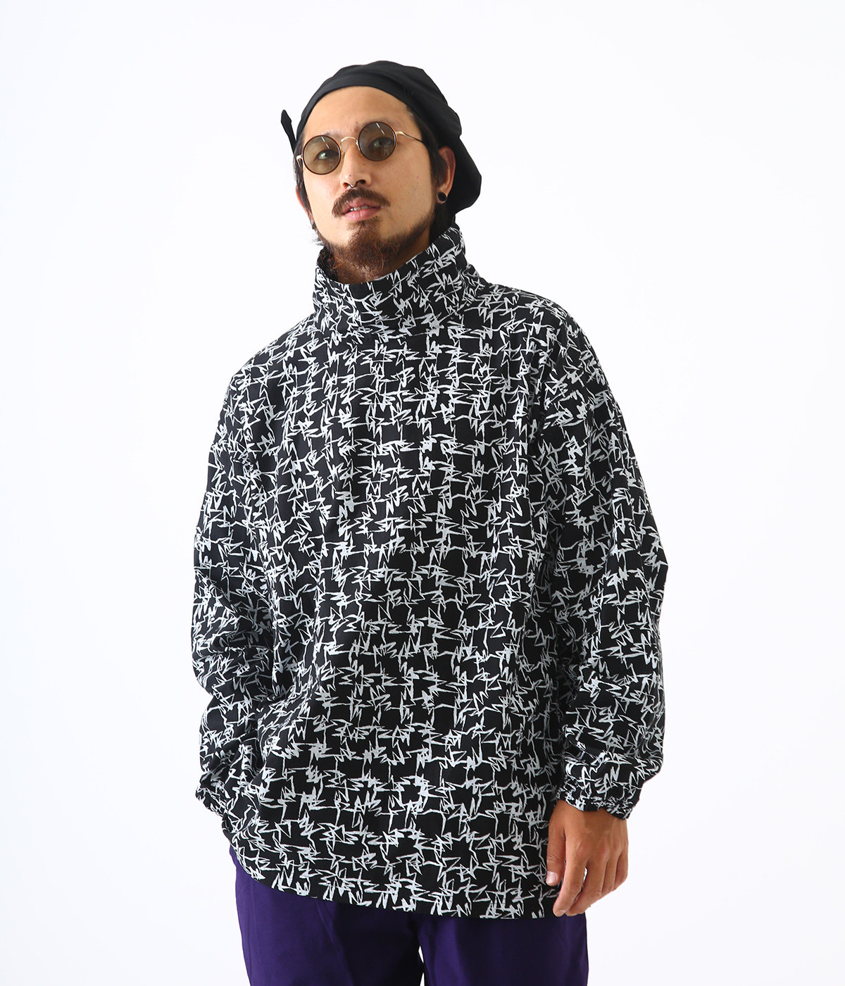 BRUSH NECK PULLOVER
