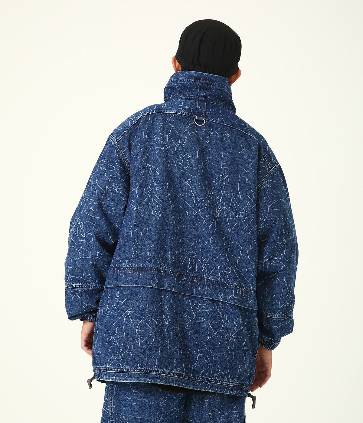 CRACK DENIM FILD JKT
