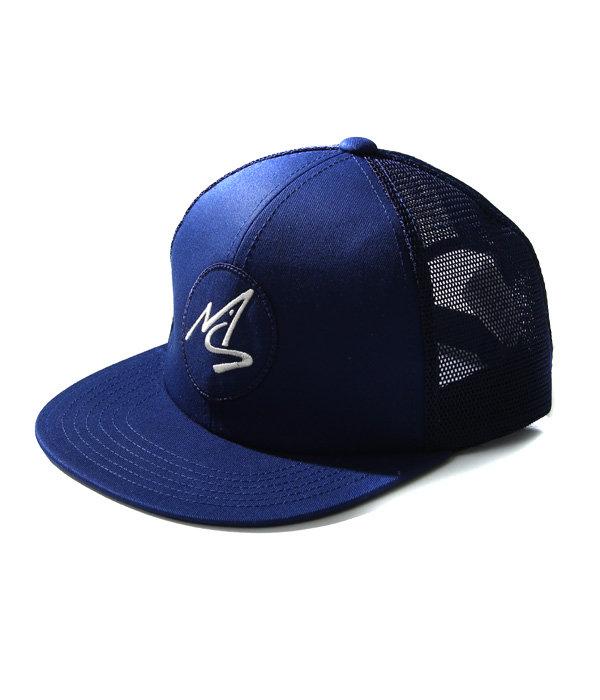 MESH CAP LOGO WHITE
