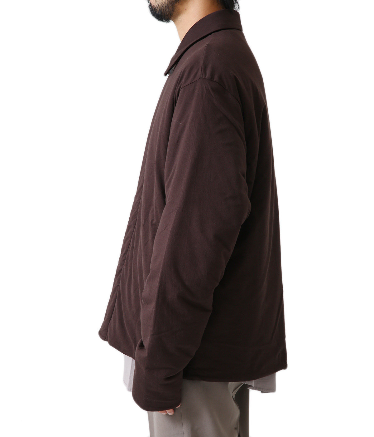DOUBLE CLOTH PUFFER BLOUSON
