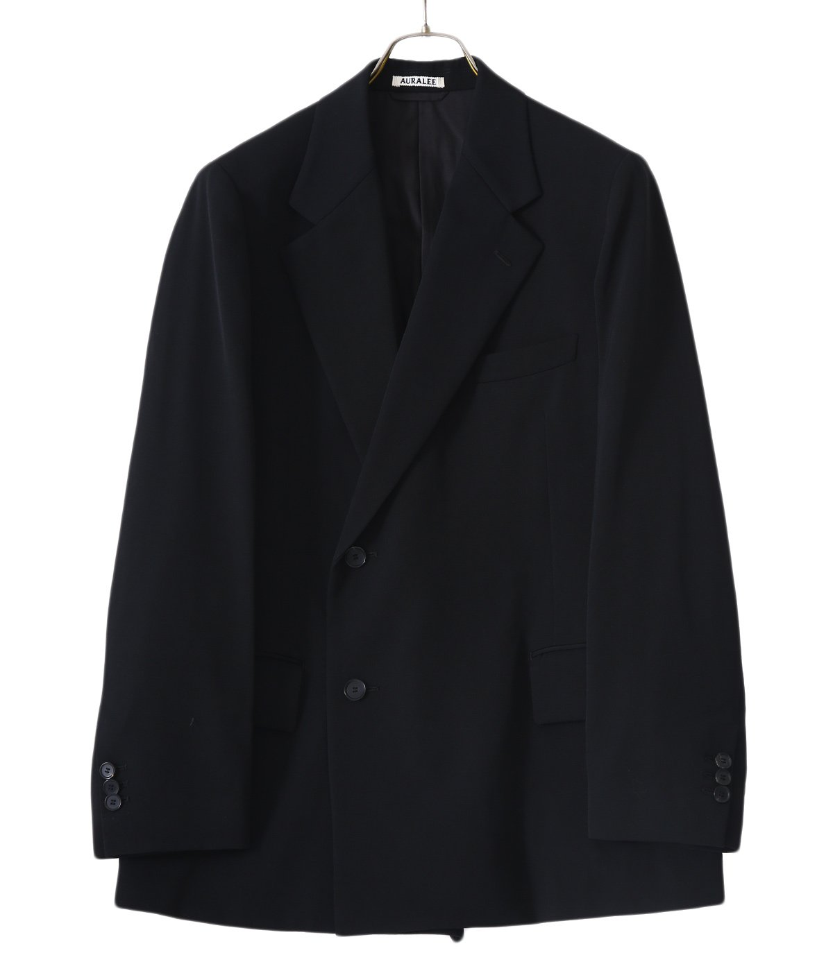 WOOL MAX GABARDINE DOUBLE-BREASTED JACKET