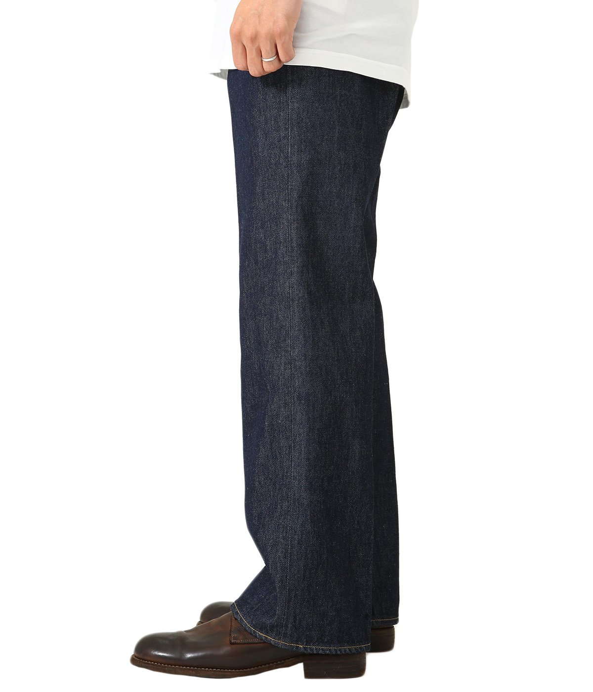 HARD TWIST DENIM 5P PANTS