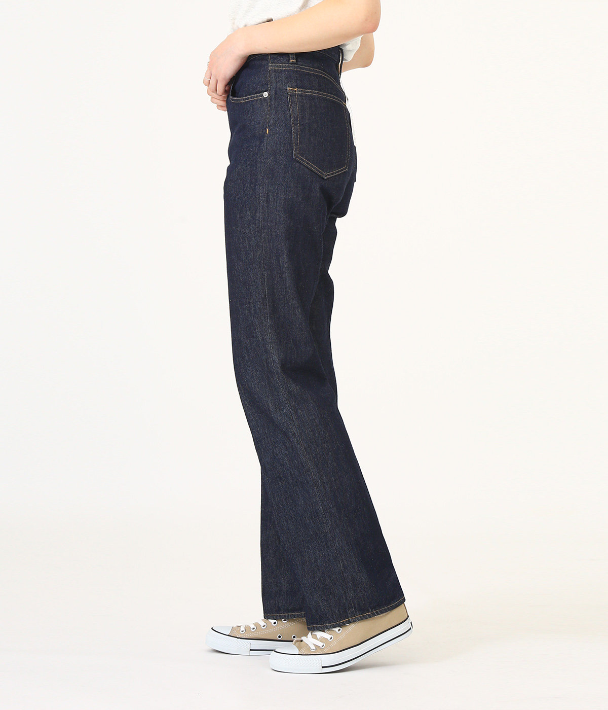【レディース】HARD TWIST DENIM 5P PANTS