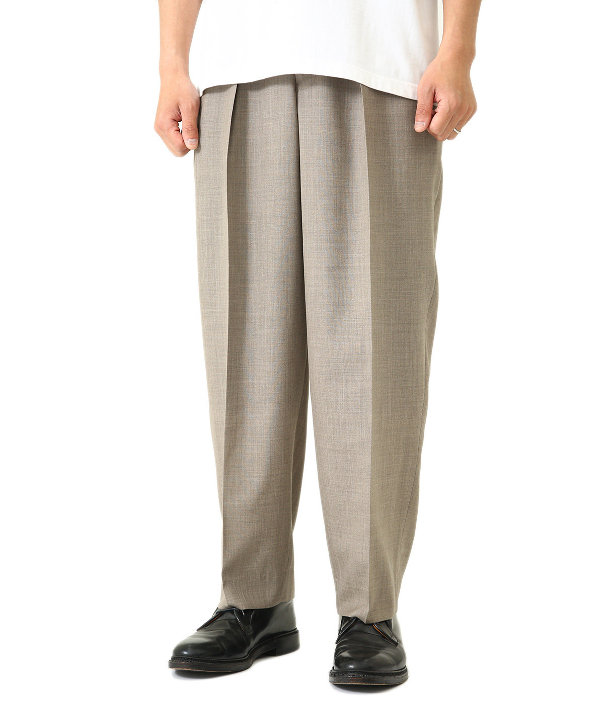 CLASSIC FIT TROUSERS -SUPER 120's WOOL TOROPICAL-