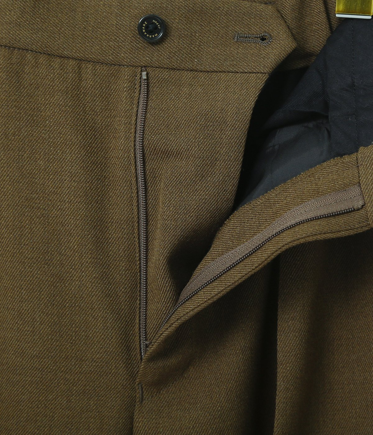 PLEATED FRONT PEGTOP -ORGANIC WOOL SURVIVAL CLOTH-